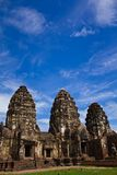 Pagoda in Lopburi of Thailand Stock Photos