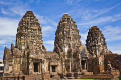 Pagoda in Lopburi of Thailand Royalty Free Stock Photo