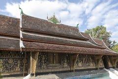 Pagoda in luhang prabang Royalty Free Stock Photo