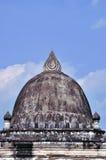 Pagoda Makmo på luangprabang i laos royaltyfri fotografi