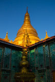 Pagoda  , Mandalay in Myanmar (Burmar) Royalty Free Stock Photos