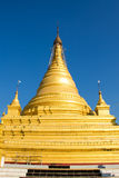 Pagoda  , Mandalay in Myanmar (Burmar) Royalty Free Stock Images
