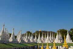 Pagoda  , Mandalay in Myanmar (Burmar) Stock Photos