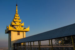 Pagoda  , Mandalay in Myanmar (Burmar) Royalty Free Stock Photography