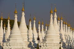 Pagoda  , Mandalay in Myanmar (Burmar) Stock Photo