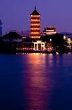 Pagoda maravillosa Fotos de archivo libres de regalías