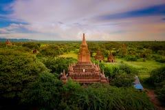 Pagoda. A miracle pagoda in myanmar Royalty Free Stock Photo