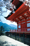 pagoda miyajima Стоковое Изображение RF