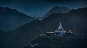 Pagoda on the mountain Stock Photography