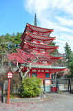 Pagoda multipiana Fotografie Stock Libere da Diritti