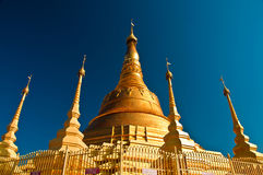 Pagoda in Myanmar Stock Photography