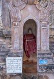 Pagoda Myanmar di Kakku Fotografie Stock Libere da Diritti