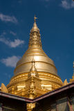 Pagoda in Myanmar. Style of pagoda in Myanmar and northern Thailand Royalty Free Stock Photography