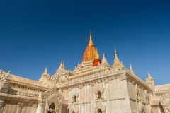 Pagoda in Myanmar. Style of pagoda in Myanmar and northern Thailand Stock Photos