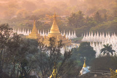 A Pagoda in Myanmar Stock Image