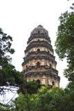 Pagoda na floresta Imagem de Stock