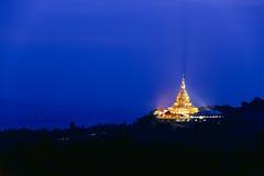 Pagoda na górze Obraz Stock