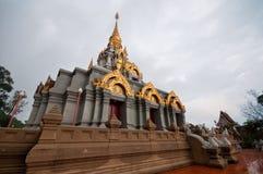 Pagoda na górze Doi Mae Salong Obraz Stock