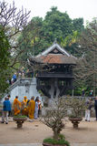 Pagoda na jeden nodze, Hanoi Zdjęcia Stock
