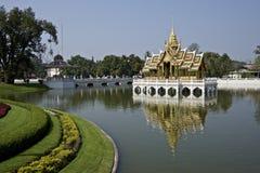 Pagoda na jeziorze Fotografia Royalty Free