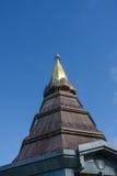 Pagoda na moutain, Doi Inthanon park narodowy, Tajlandia Obrazy Stock