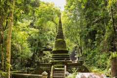 Pagoda. Namtok Phliu National Park, Chanthaburi Royalty Free Stock Image
