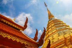 Pagoda a Nan, Tailandia Fotografie Stock Libere da Diritti