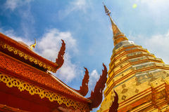 Pagoda in Nan, Thailand Royalty Free Stock Photos