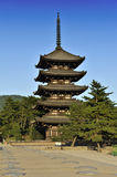 Pagoda in Nara Royalty Free Stock Photos
