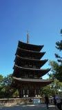 Pagoda in Nara Park Stock Photo