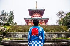 Pagoda at Narita-san Shinsho-ji temple, Stock Photos
