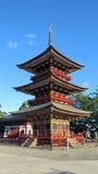 Pagoda of Naritasan Shinshoji Temple in Japan Royalty Free Stock Photography