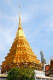 Pagoda nel palazzo di Bangkok immagini stock