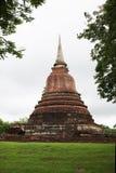 Pagoda nel passato Fotografia Stock
