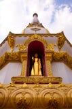 Pagoda nel tempiale della Tailandia Fotografie Stock