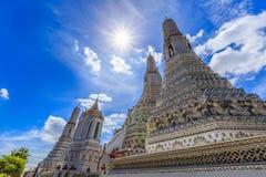 Pagoda nel tempiale della Tailandia Immagine Stock