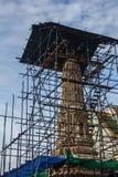 Pagoda nell'ambito di ripristino Fotografie Stock