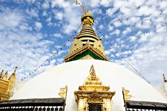 Pagoda in Nepal Royalty Free Stock Photography