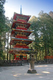 Pagoda a Nikko immagine stock libera da diritti