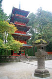 Pagoda. Nikko Japan Shrine Shinto Religion Lantern Rock Pagoda Ancient World Heritage Royalty Free Stock Image