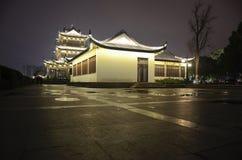Pagoda nocą Zdjęcia Royalty Free