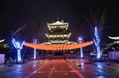 Pagoda nocą Zdjęcie Stock