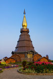 Pagoda in the north of Thailand. Royalty Free Stock Photography