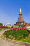 Pagoda in the north of Thailand Stock Photo