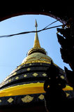 Pagoda in northern Thailand Royalty Free Stock Photography