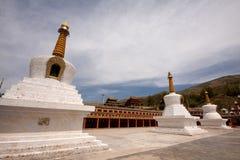 Pagoda och tempel Royaltyfri Foto