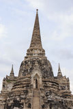 Pagoda old former capital of Thailand Stock Photography