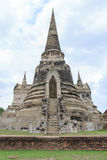 Pagoda old former capital of Thailand Royalty Free Stock Image