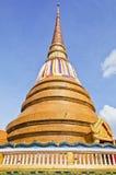 Pagoda på thailändsk tempelstil i Khon Kaen Thailand Arkivbild
