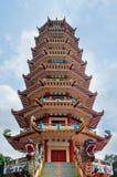 Pagoda in Palembang, Indinesia Stock Images